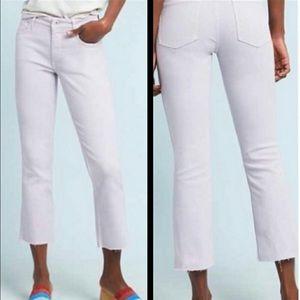 Pilcro high rise boot cut crop jeans